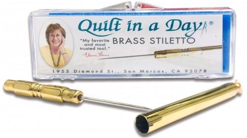 Brass Stiletto