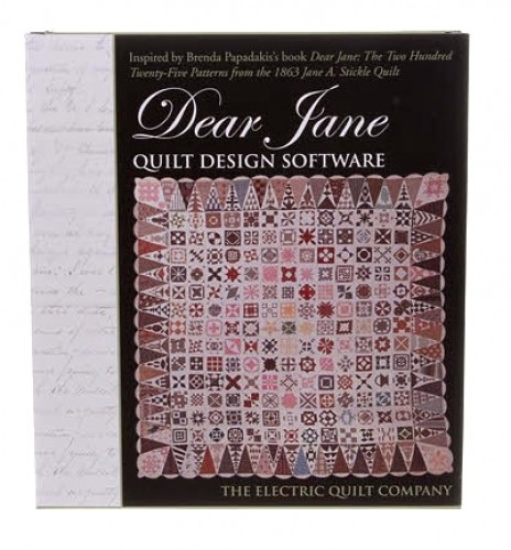 Eleanor Burns | CD: Dear Jane by The Electric Quilt Company : electric quilt company - Adamdwight.com