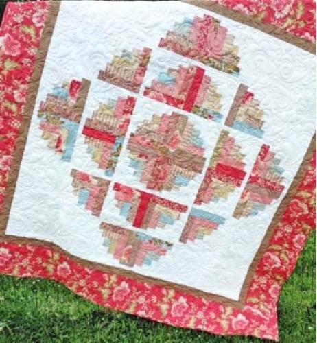 Eleanor Burns Cut Loose Press Fascination Quilt Pattern