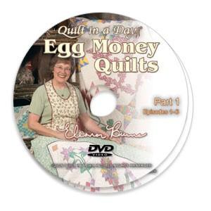 Eleanor Burns Egg Money Quilts Dvd
