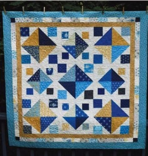 Eleanor Burns Cut Loose Press Big Cats Little Cats Quilt Pattern