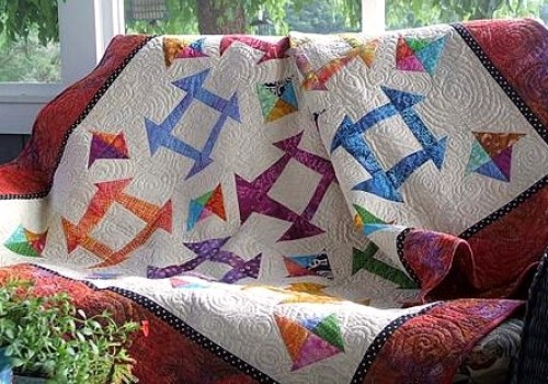 Eleanor Burns Cut Loose Press Perfection Is Overrated Quilt Pattern
