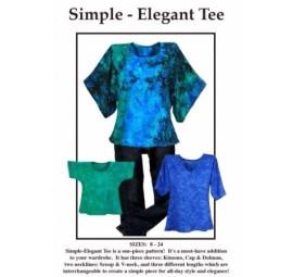 Simple Elegant Tee By CNT Pattern Co