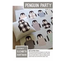 Penguin Party Pattern by Elizabeth Hartman