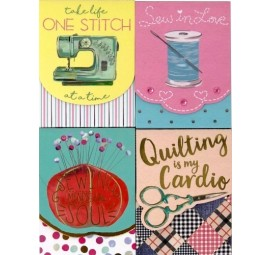Sewing Themed Pocket Notepad Set