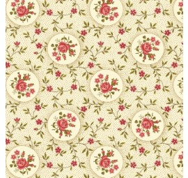 BENARTEX - Homestead-Colonial - Rosette-Cream