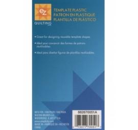 Blank Plastic Template Sheet 12x18