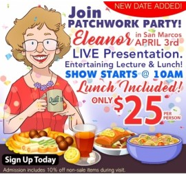 Patchwork Party with Eleanor