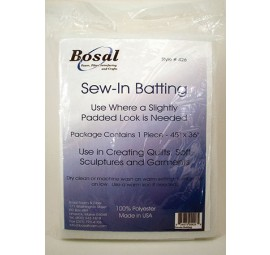 Bosal Sew-in Batting 45 x 36