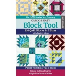 New Ladies Art Company Quick & Easy Block Tool by Connie Chunn