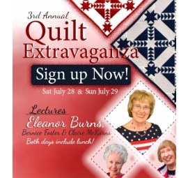 Quilt in a Day 2018 Quilt Extravaganza Day 1