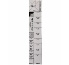 The Log Cabin Ruler by Quilt in a Day