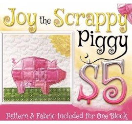 Joy the Pig Block