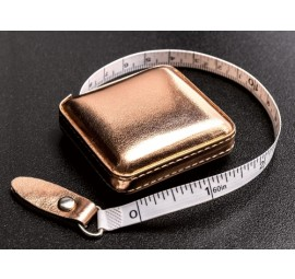 Klasse Retractable Rose Gold Tape Measure