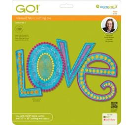 Accuquilt Die GO! 55306 Love by Sarah Vedeler