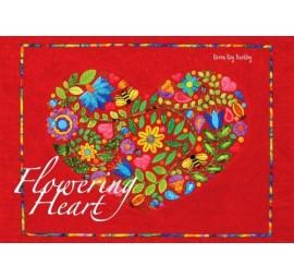 Flowering Heart Pattern by Karen Kay Buckley