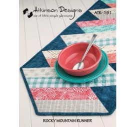 Rocky Mountain Runner Pattern by Atkinson Designs