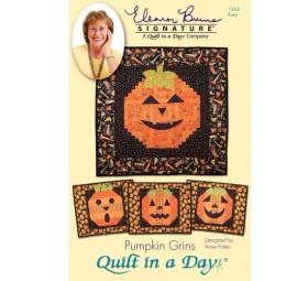 Pumpkin Grins: Eleanor Burns Signature Pattern 735272012627