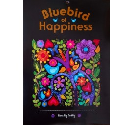 Bluebird of Happiness  Pattern by Karen Kay Buckley