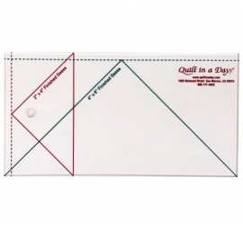 Large Flying Geese Ruler 4 X 8 by Quilt in a Day