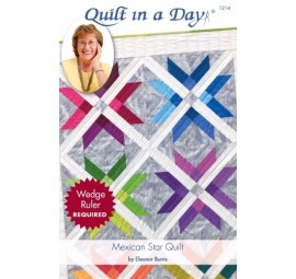 Mexican Star Quilt: Eleanor Burns Signature Pattern