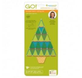 Accuquilt Die GO! 55094 Sparkle-Jumbo Tree by Sarah Vedeler