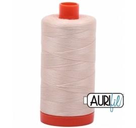 Aurifil Light Beige 50 wt Cotton 1422 yd