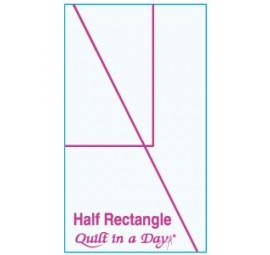 Half Rectangle Template