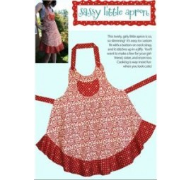 Cabbage Rose: Sassy Little Apron Pattern