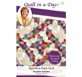 Split Nine-Patch Quilt: Eleanor Burns Signature Pattern