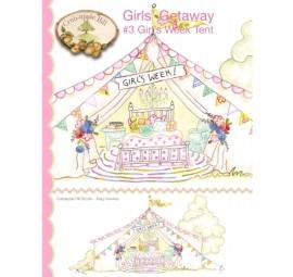 Girls Getaway #3 Girls Week Tent by Crabapple Hill Studio