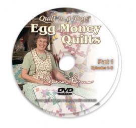 Egg Money Quilts DVD
