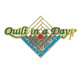 Quilt in a Day Log Cabin Lapel Pin