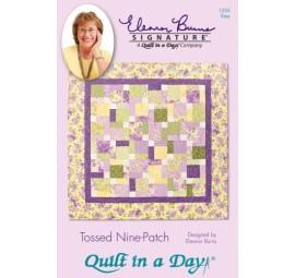 Tossed Nine Patch: Eleanor Burns Signature Quilt Pattern  735272012559