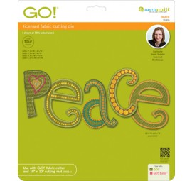 Accuquilt Die GO! 55305 Peace by Sarah Vedeler