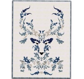 The Stag Laser Cut Fabric Kit - Winter