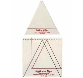 Triangle in a Square Ruler by Quilt in a Day