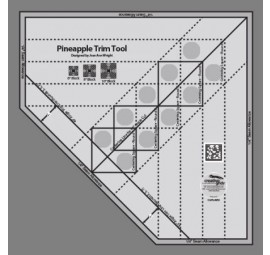 Creative Grids Pineapple Trim Tool  CGRJAW3