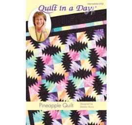 Quilt in a Day: Pineapple Quilt Kit