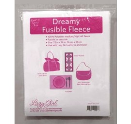 Dreamy Fusible Fleece Interfacing 22 x 1 yd by Lazy Girl Designs