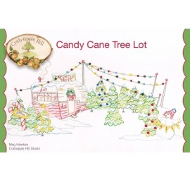 Candy Cane Tree Lot Pillow Pattern by CrabApple Hill