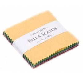 Bella Solids New Mini Charm Pack - Moda Precuts