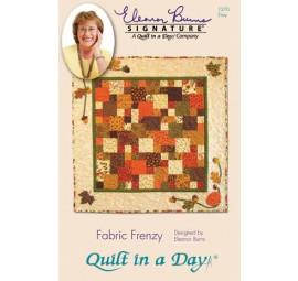 Fabric Frenzy: Eleanor Burns Signature Quilt Pattern 735272012702