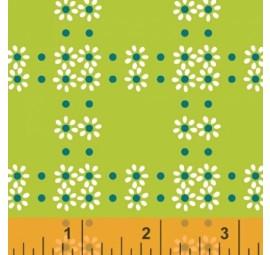 WINDHAM FABRICS - Mimosa - Daisy Grid - 39985-3