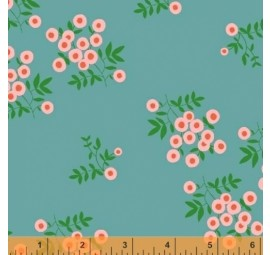 BAUM TEXTILES - Maribel - Dot Floral  FB452
