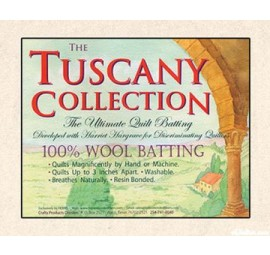 Hobbs -Tuscany 100% Wool Quilt Batting TWIN