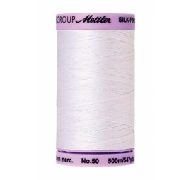Thread - Silk Finish Cotton 50wt, 547yds White