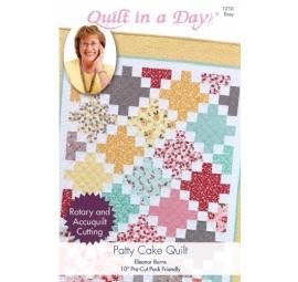 Patty Cake Quilt: Eleanor Burns Signature Pattern