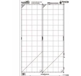Mondo Bag Pre Printed Interfacing  - 2 panels by Quiltsmart