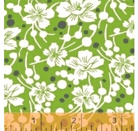 BAUM TEXTILES - Mimosa - Flowers and Pebbles - 39982-3